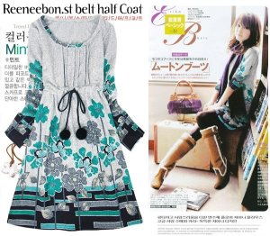 Model baju wanita flower -IDR 200.000